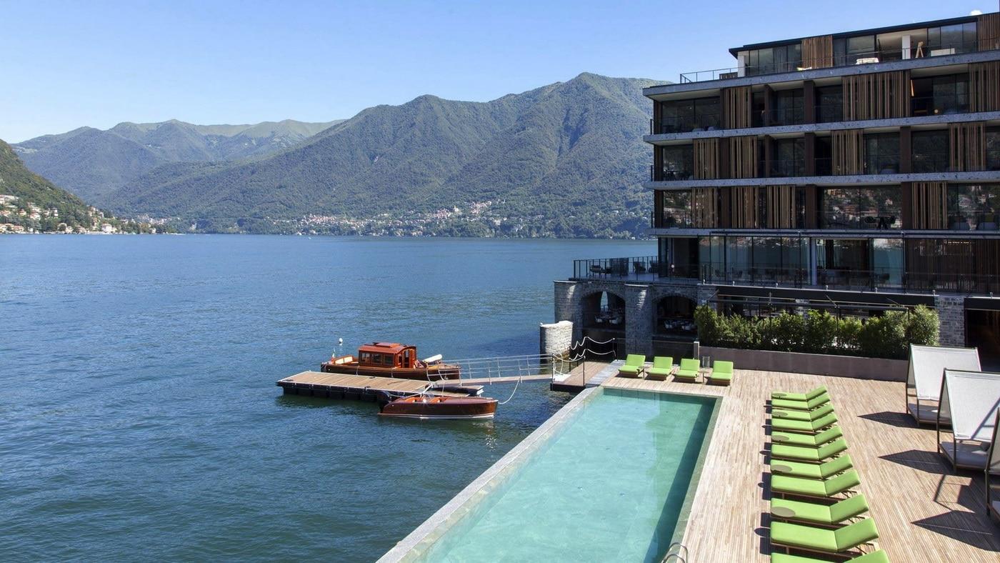 Comer see designhotel il sereno startet in seine zweite for Design hotels mittelmeer