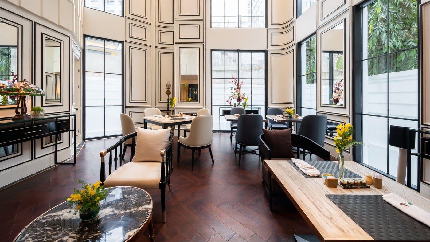 Bach suites saigon neues designhotel in vietnam for Design hotel vietnam