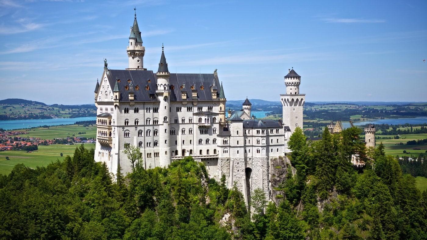 Schloss Neuschwanstein in Bayern (c) pixabay
