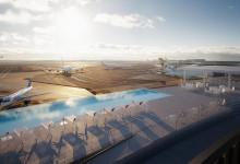 Bild von New York: Spektakuläres Flughafen-Hotel mit Rooftop-Pool