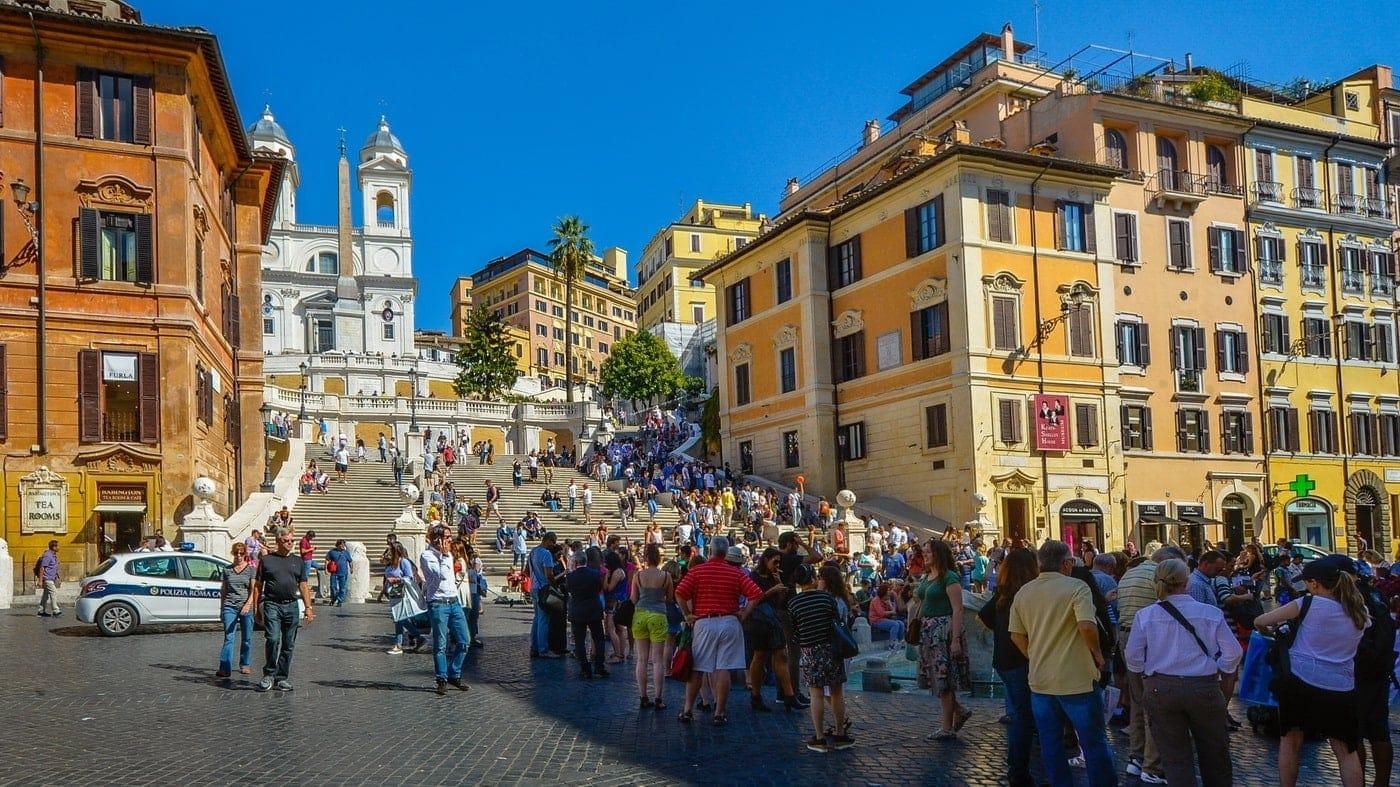 Rom Verbot Souvenirstände
