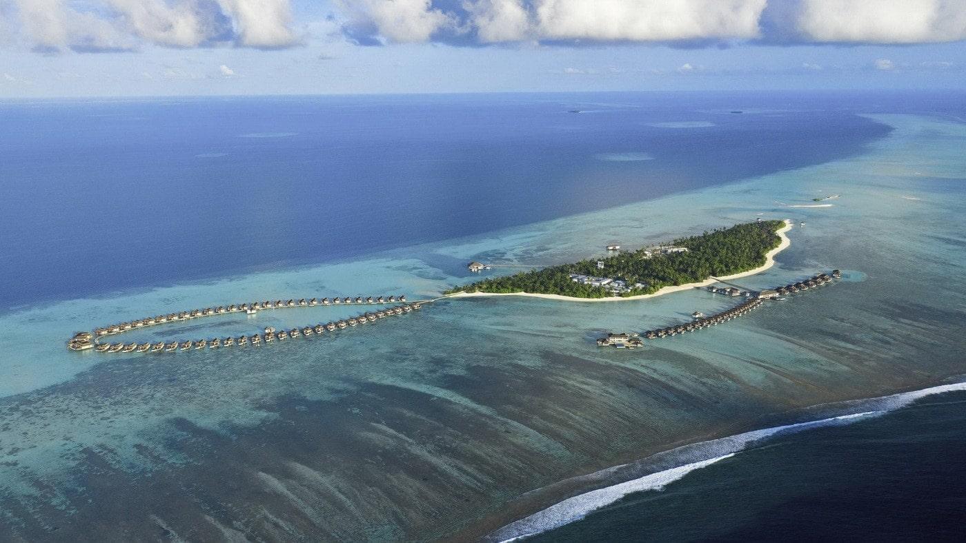 ullman Maldives Fallschirmsprung