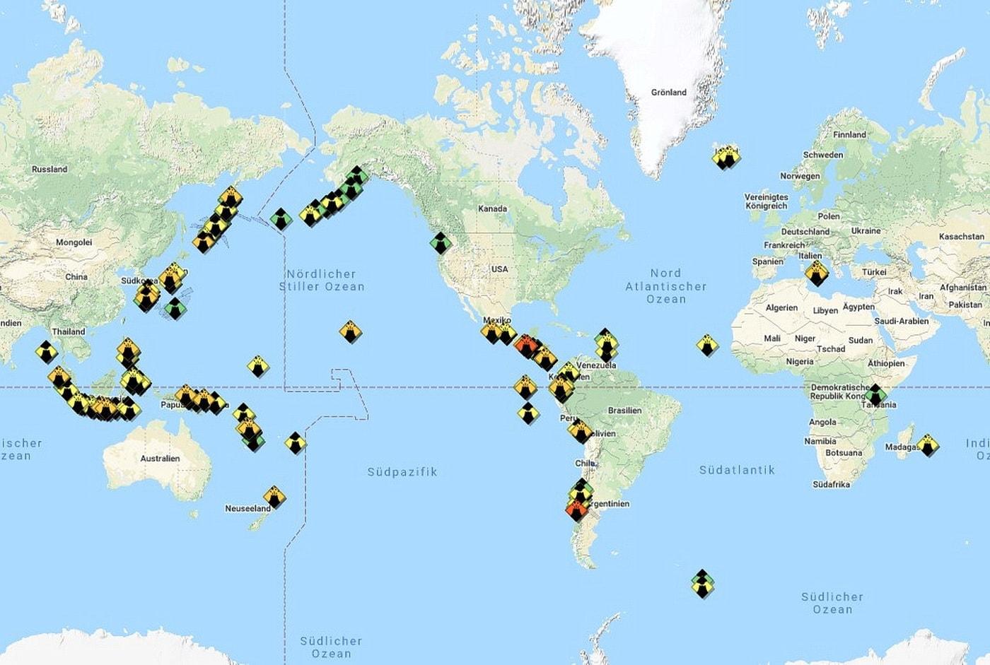 A3M analysiert Vulkanausbrüche