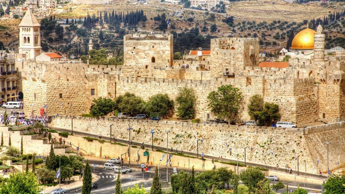 Jerusalem Mauerpromenade
