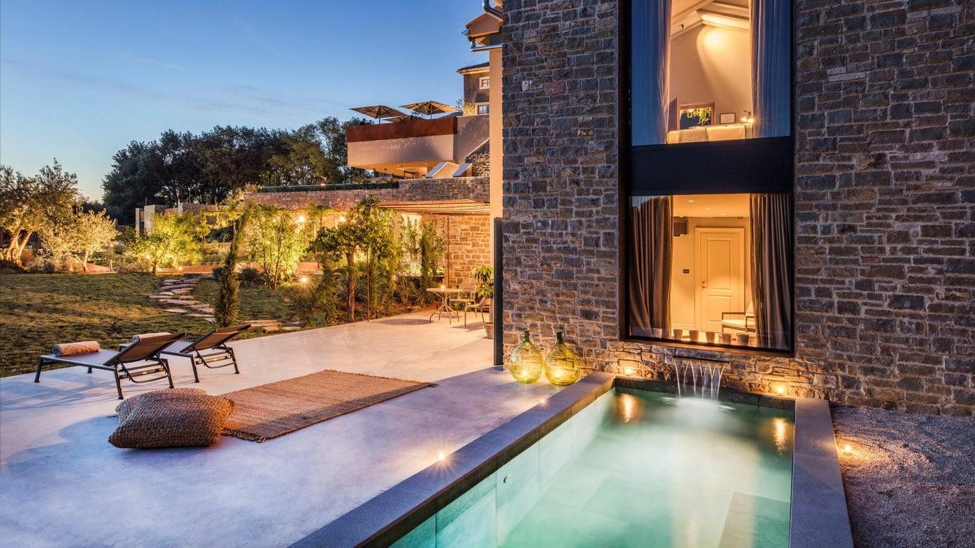 Luxushotel Istrien