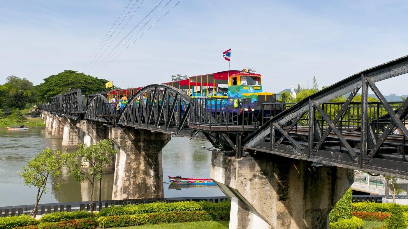 Zugfahrt Thailand