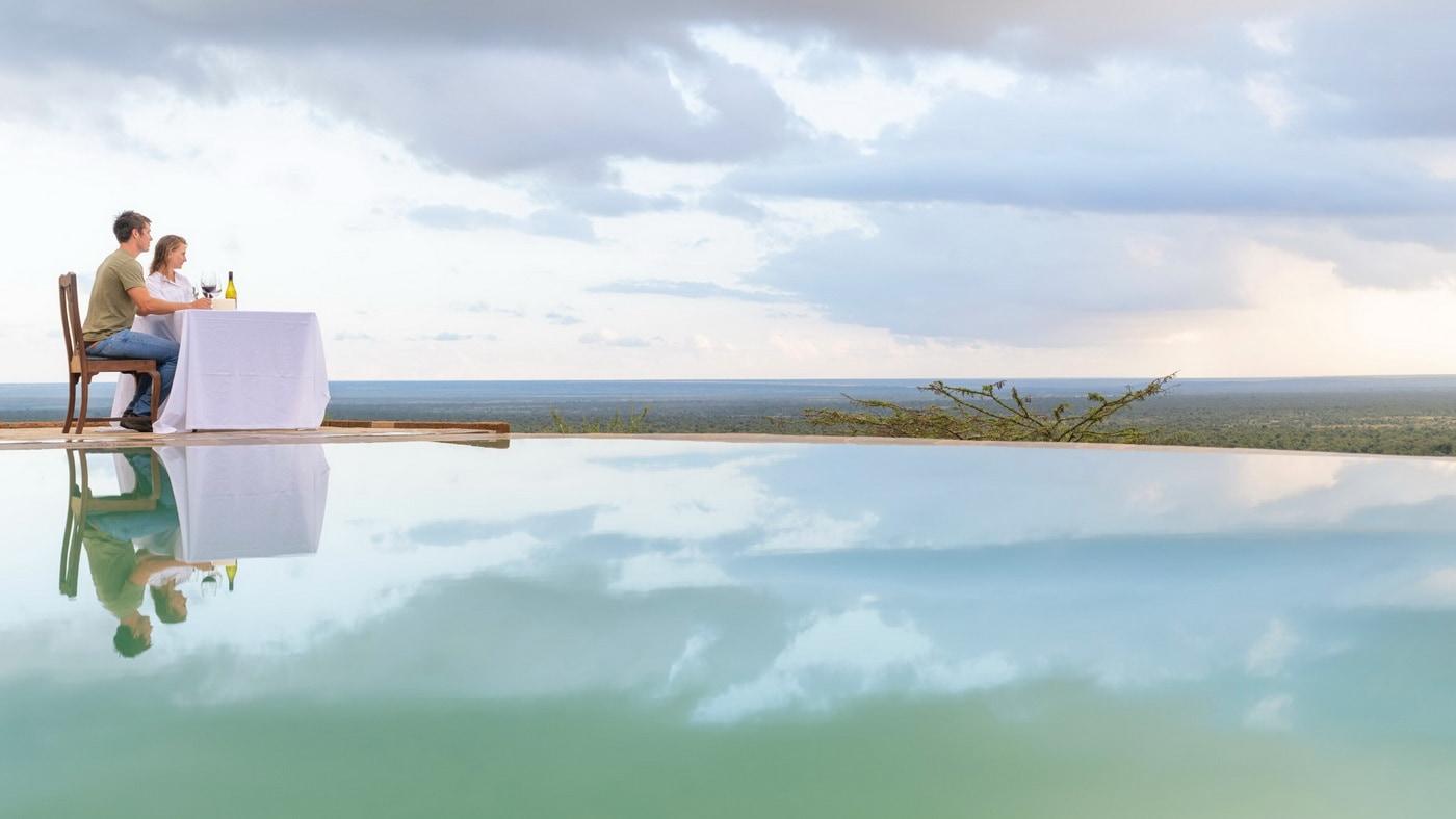 Luxuscamp Kenia