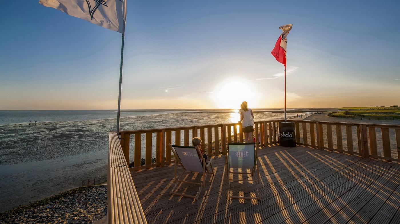 Nordsee Sonnenuntergänge
