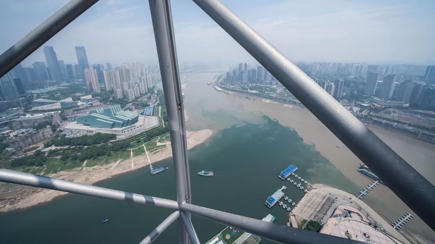 Chongqing Aussichtsplattform