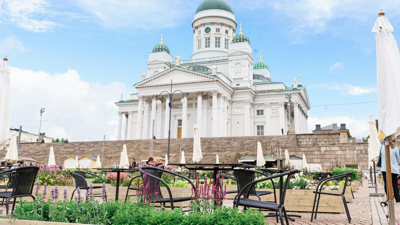 Senatsplatz / Helsinki (c) Camilla Bloom