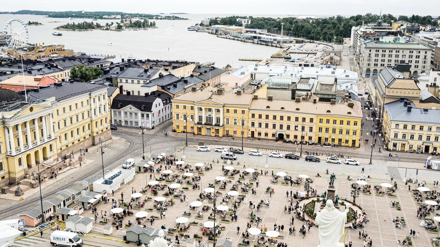 Helsinki Senatsplatz