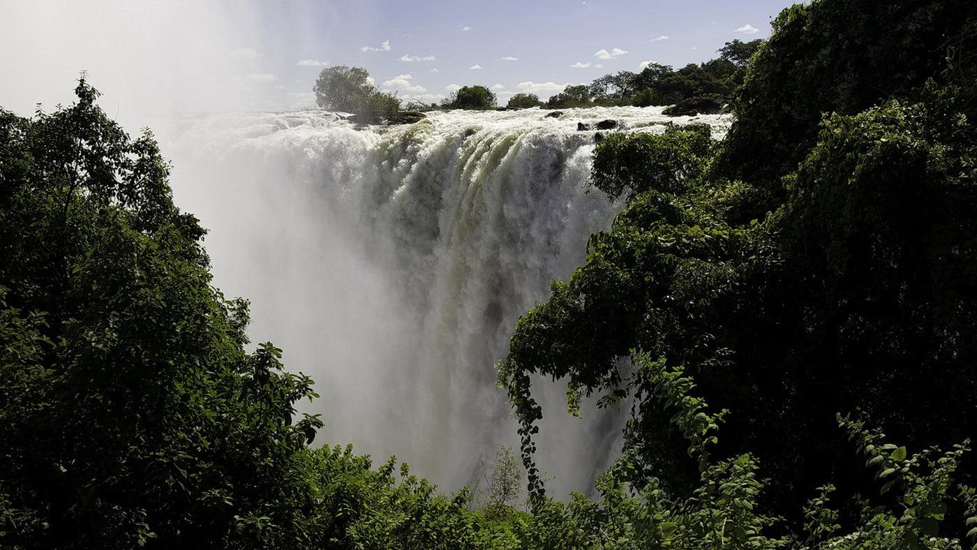 Victoria Falls / Sambia (c) Wilderness Safaris / Dana Allen