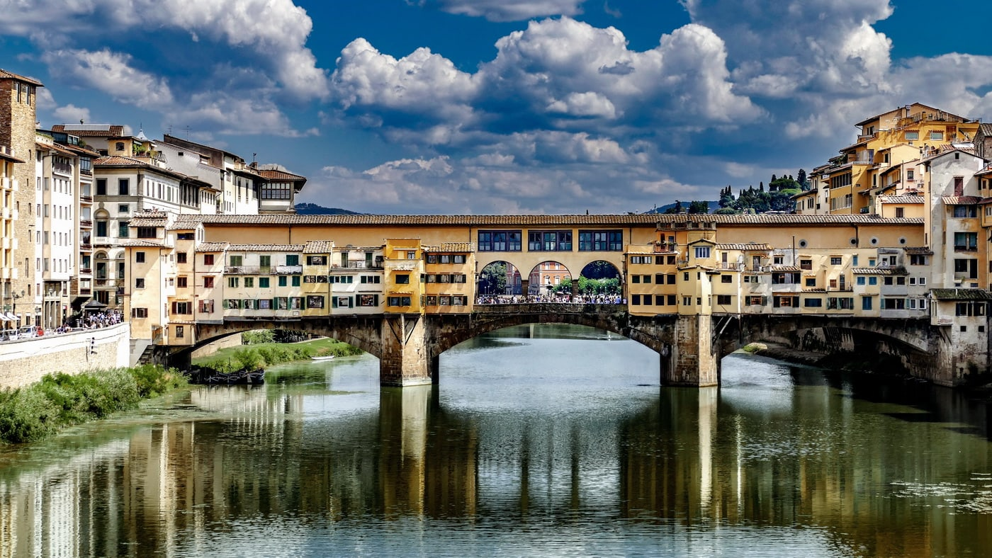 Florenz / Ponte Vecchio (c) pixabay / Ervin Gjata