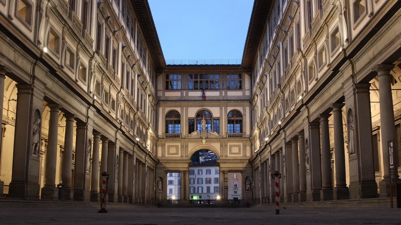 Florenz / Galleria degli Uffizi (c) pixabay / dalibro