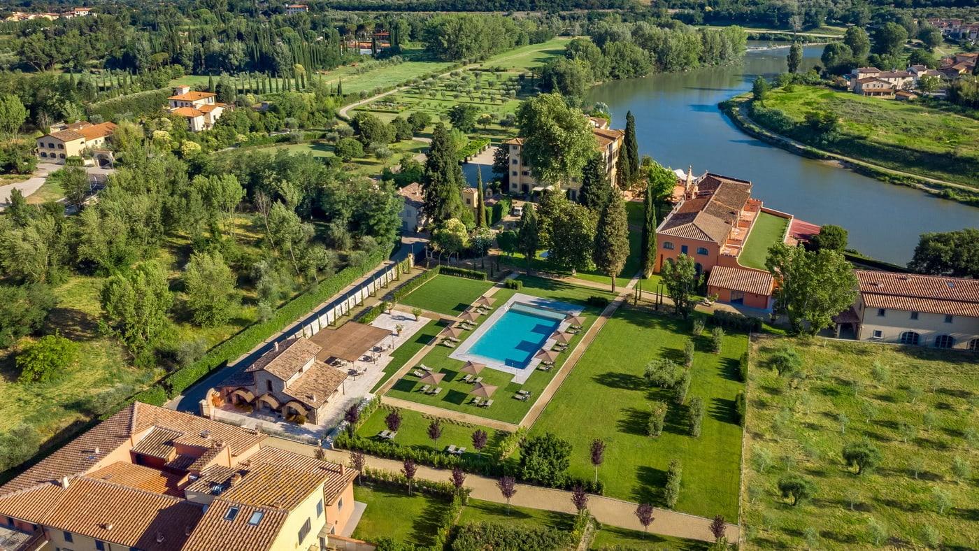 Villa La Massa Toskana