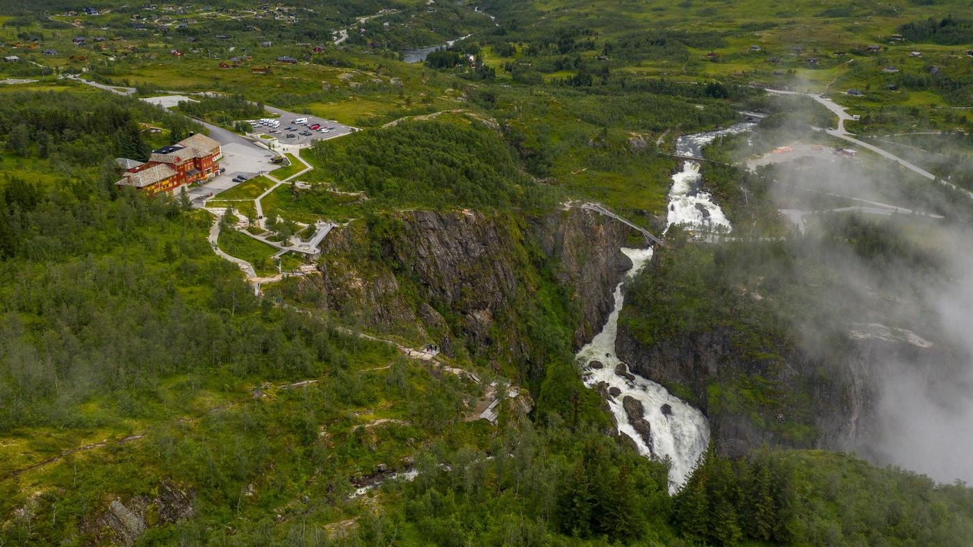 Wasserfall Norwegen