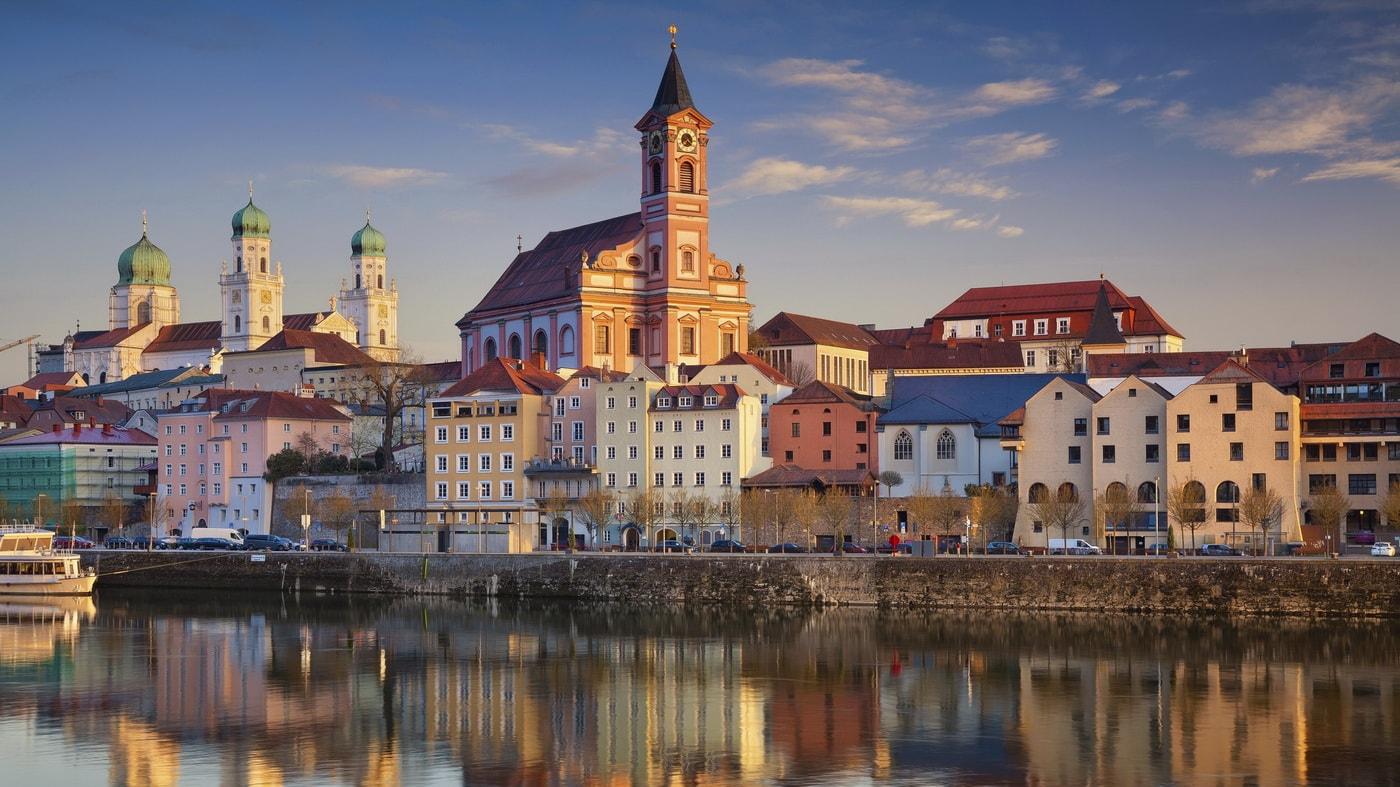 Passau (c) Shutterstock / Rudy Balasko