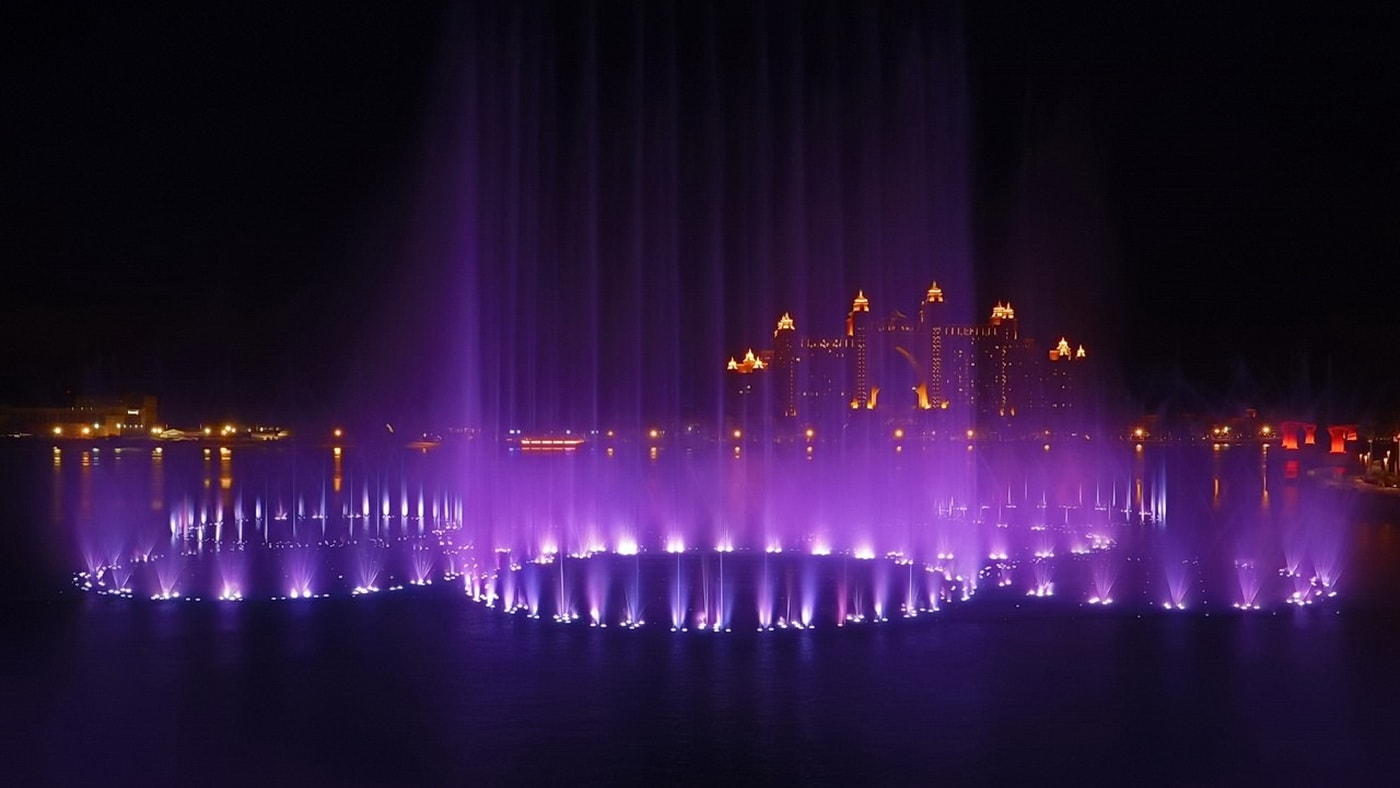 The Palm Fountain / Dubai (c) Nakheel