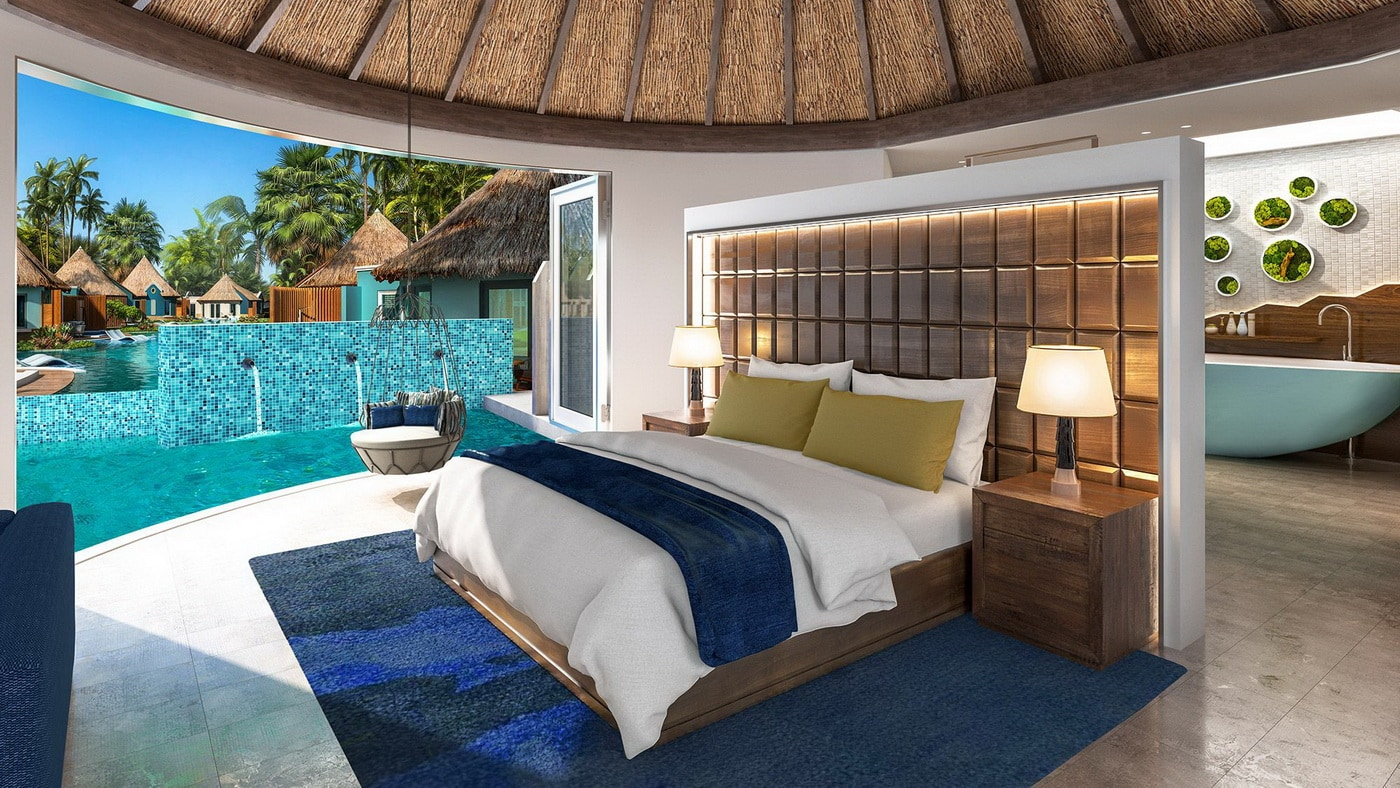 Neue Swim-Up Rondoval Suiten im Sandals South Coast Resort (c) Sandals Resorts International